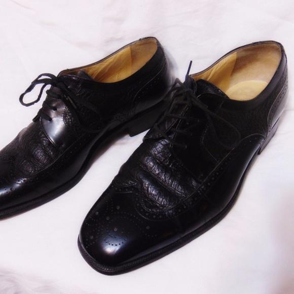 Stemar Other - STEMAR Wingtip Oxford Shoes Sz 9 USA/UK 8 Black